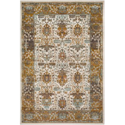 Rittman Camel/Brown Area Rug Rug Size: Rectangle 53 x 76