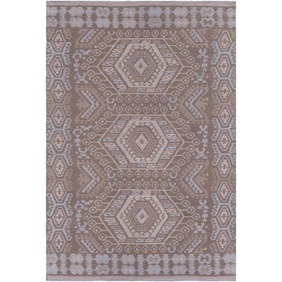Sturbridge Hand Woven Brown Outdoor Area Rug Rug Size: Rectangle 4 x 6