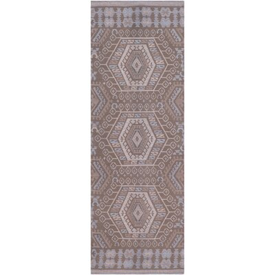 Sturbridge Hand Woven Brown Outdoor Area Rug Rug Size: Runner 26 x 8