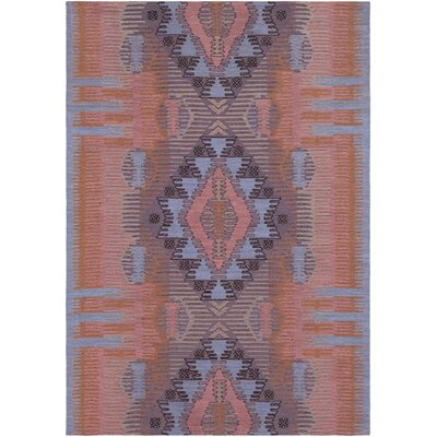 Sturbridge Hand-Woven Peach Outdoor Area Rug Rug Size: Rectangle 4 x 6