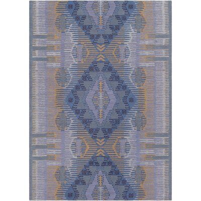 Sturbridge Hand-Woven Aqua Outdoor Area Rug Rug Size: Rectangle 4 x 6
