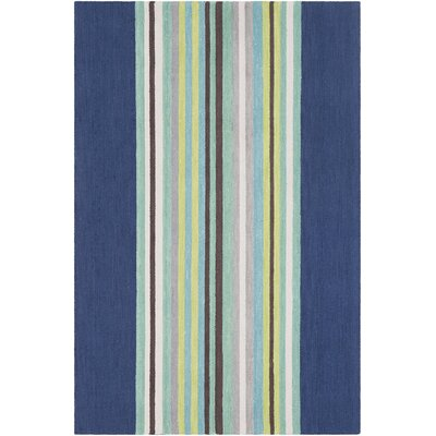 Chatman Hand Tufted Wool Blue/Mint Area Rug Rug Size: Rectangle 5 x 76