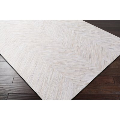 Loraine Hand Woven Beige Area Rug Rug Size: Rectangle 8 x 10