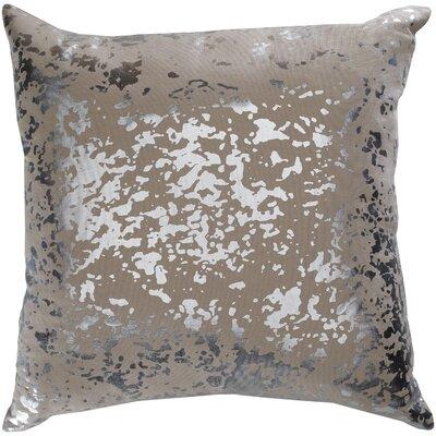 Crescent Modern cotton Pillow Cover Color: Khaki
