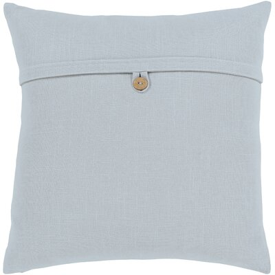 Penelope Modern Cotton Throw Pillow Color: Gray, Size: 18 H x 18 W x 0.25 D, Type/Fill: Cover