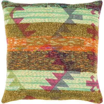 Chames Throw Pillow Size: 20 H x 20 W x 4 D, Type/Fill: Pillow With Down Insert