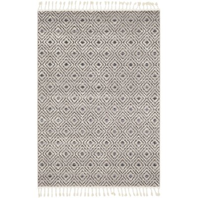 Hudgens Distressed Beige/Gray Area Rug Rug Size: Rectangle 2 x 3