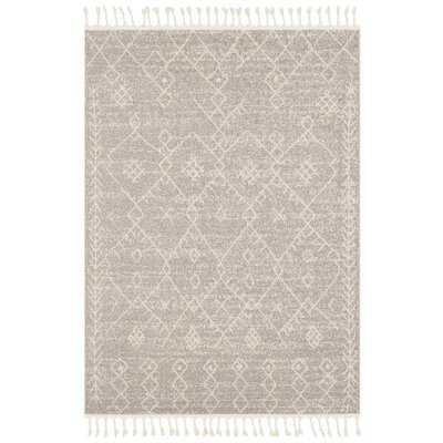 Hudgens Distressed Southwestern Beige/Ivory Area Rug Rug Size: Rectangle 5 x 73