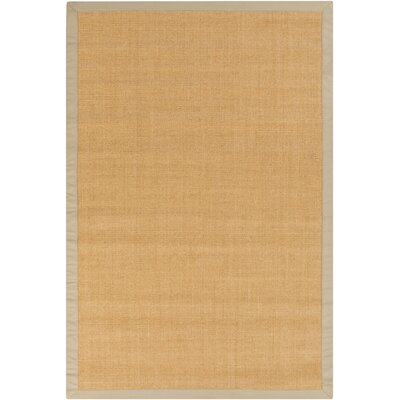 Hepatique Hand-Woven Sepia/Sand Area Rug