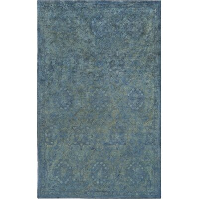 Harlowe Hand-Tufted Wool Sage/Navy Area Rug