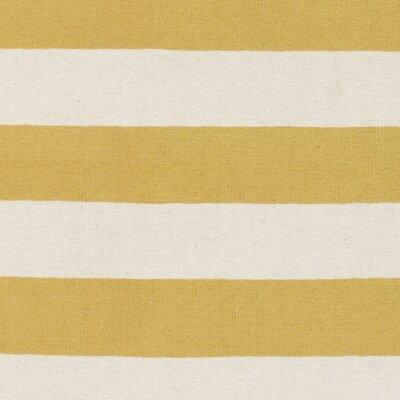Stonebridge Hand-Woven Wool Pale Orange/White Area Rug Rug Size: Runner 2 x 8