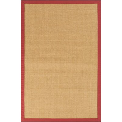 Hepatique Hand-Woven Olive/Currant Area Rug Rug Size: Rectangle 4 x 6