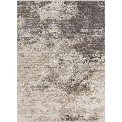 Granger Beige/Medium Gray Area Rug Rug Size: Rectangle 53 x 76