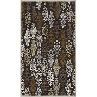 Caseyville Traditional Hand-Woven Khaki/Pale Blue Area Rug Rug Size: Rectangle 52 x 76