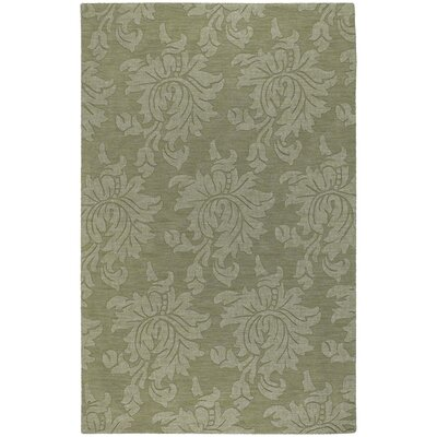Ardal Hand-Woven Wool Sage/Crocodile Area Rug Rug Size: Rectangle 9 x 12