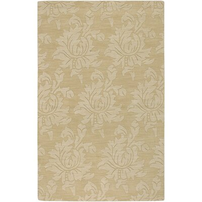 Ardal Hand-Woven Wool Cream/Beige Area Rug Rug Size: Rectangle 36 x 56