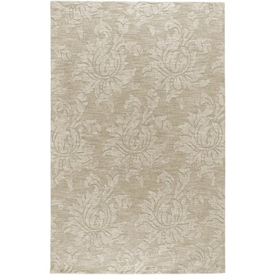 Ardal Hand-Woven Wool Beige Area Rug Rug Size: Rectangle 8 x 10