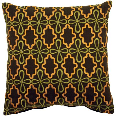 Malveaux Geometric Throw Pillow Fill Material: Down