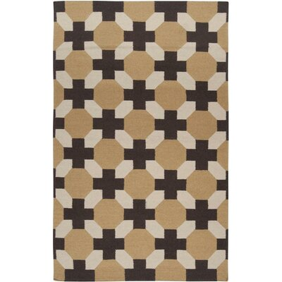 Wallace Checked Area Rug Rug Size: 5 x 8