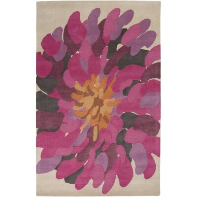 Parson Fuchsia Area Rug Rug Size: Rectangle 5' x 8'