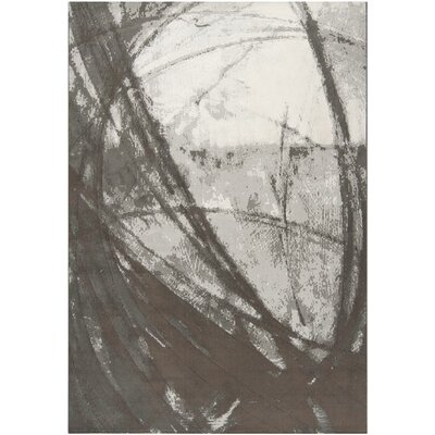 Surya Rug Contempo Gray Art Work Rug