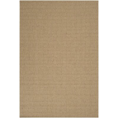 Janessa Cream Outdoor Area Rug Rug Size: 5'3