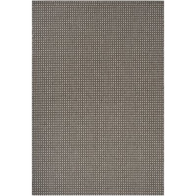 Janessa Gray Outdoor Area Rug Rug Size: 3'11