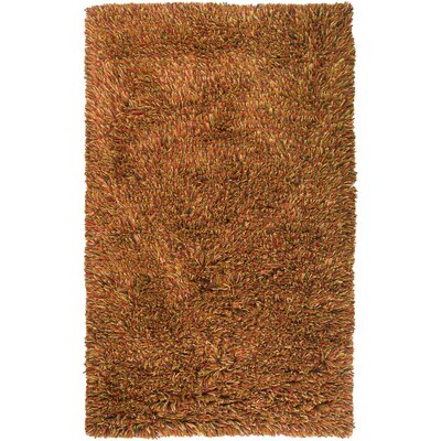 Rutherford Orange Rug Rug Size: 8 x 10