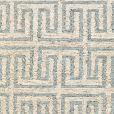 Columbia Beige/Sky Blue Area Rug Rug Size: 8 x 11