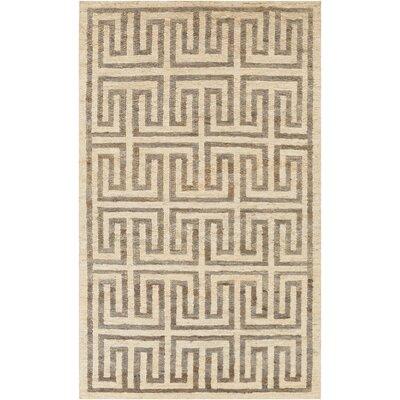 Columbia Beige/Gray Area Rug Rug Size: 2 x 3