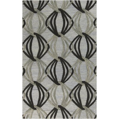 Dream Hand-Tufted Black/Gray Area Rug Rug Size: Rectangle 9 x 13