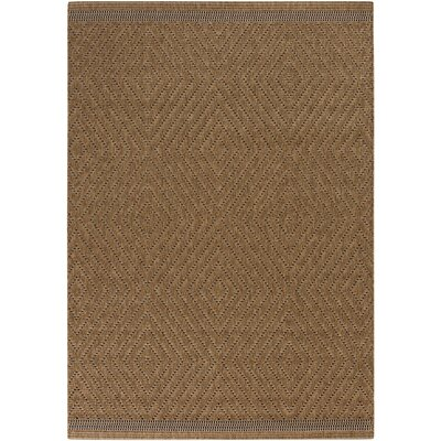 Elements Bronze Indoor/Outdoor Area Rug Rug Size: 22 x 34