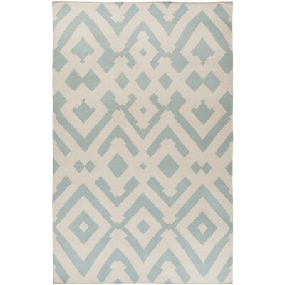 Paddington Hand-Woven Gray/Beige Area Rug Rug Size: 8 x 11