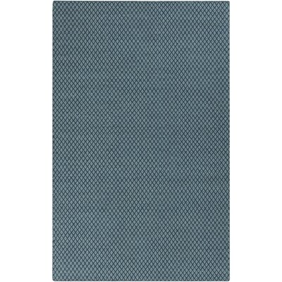 Ravena Teal Area Rug Rug Size: 33 x 53