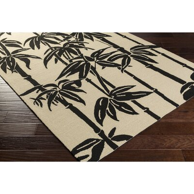 Bondi Beach Handmade Ivory Indoor/Outdoor Area Rug Rug Size: Rectangle 2 x 3