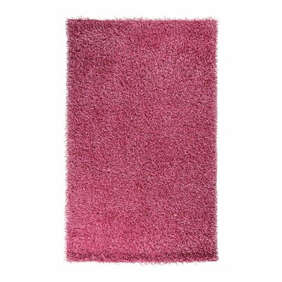 Claredon Hot Pink Area Rug Rug Size: Rectangle 26 x 42
