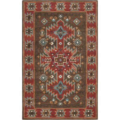 Wheatland Espresso Area Rug Rug Size: Rectangle 5 x 8