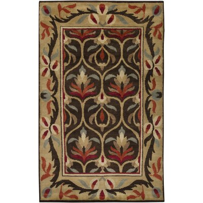 Haywood Coffee Bean Area Rug Rug Size: 8 x 11