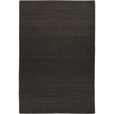 Bronwyn Hand Woven Dark Brown Area Rug Rug Size: Rectangle 5 x 8