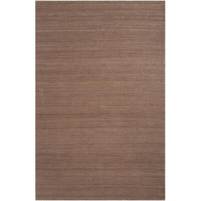 Bronwyn Brown Area Rug Rug Size: Rectangle 8 x 11