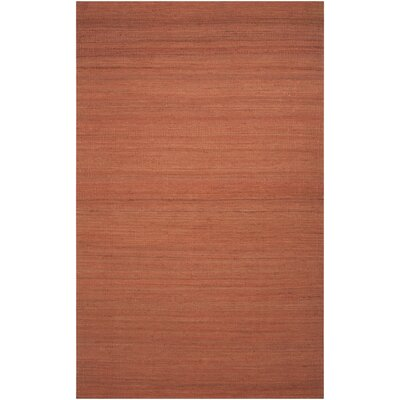 Bronwyn Paprika Area Rug Rug Size: Rectangle 5 x 8