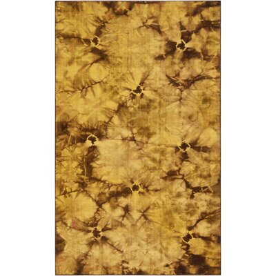 Mahoney Raw Umber Area Rug Rug Size: 8 x 11