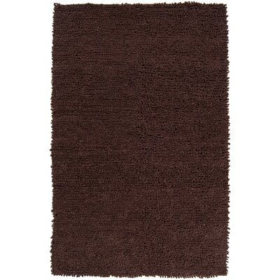 Wappinger Chocolate Rug Rug Size: Rectangle 8 x 10