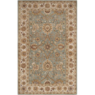 Vickers Gray Area Rug Rug Size: Rectangle 5 x 8