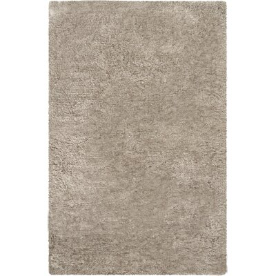 Mel Hand-Woven Taupe Area Rug Rug Size: 2 x 3