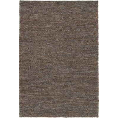 Bedford Hand-Woven Brown/Gray Area Rug Rug Size: Rectangle 2 x 3