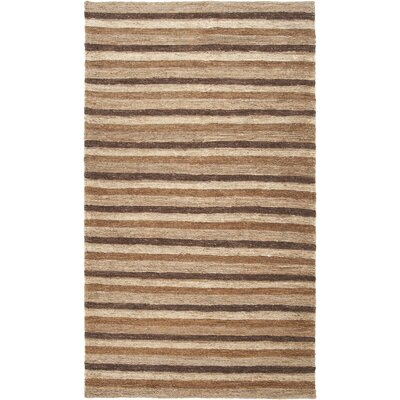 Bedford Coffee Bean/Antique White Area Rug Rug Size: Runner 26 x 8