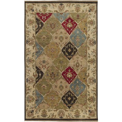 Attleborough Beige Area Rug Rug Size: 5 x 8