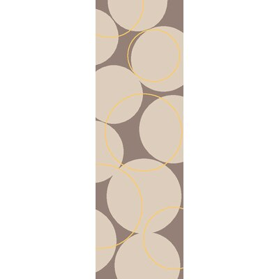 Truro Grey Area Rug Rug Size: Runner 26 x 8