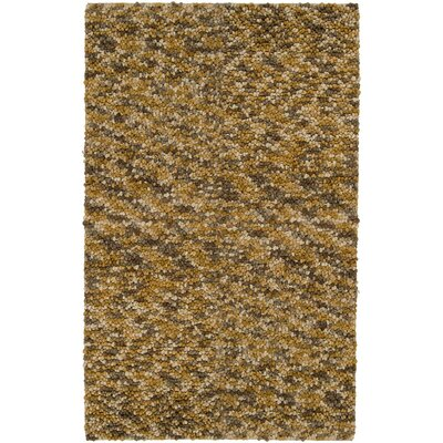 Chadwell Gold / Brown Area Rug Rug Size: 5 x 8